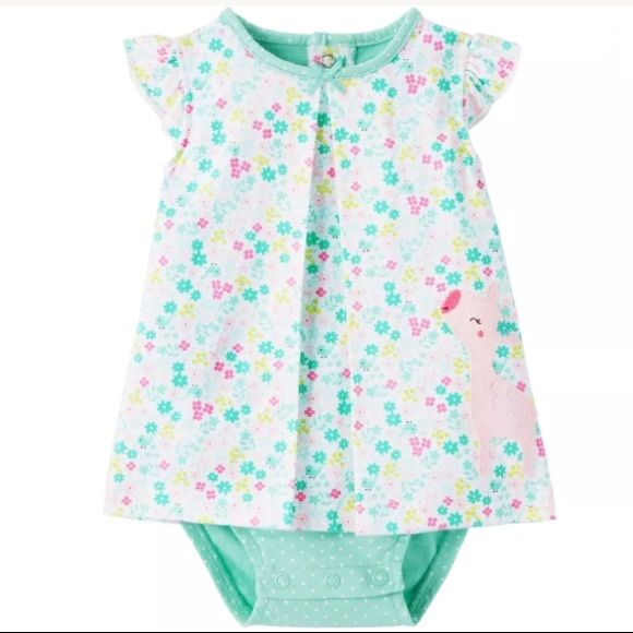 cb18c55a3 Carter's One Pieces | Child Of Mine Carters Baby Girl Romper Dress ...